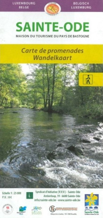 Map The Ardennes on foot, Sainte-Ode