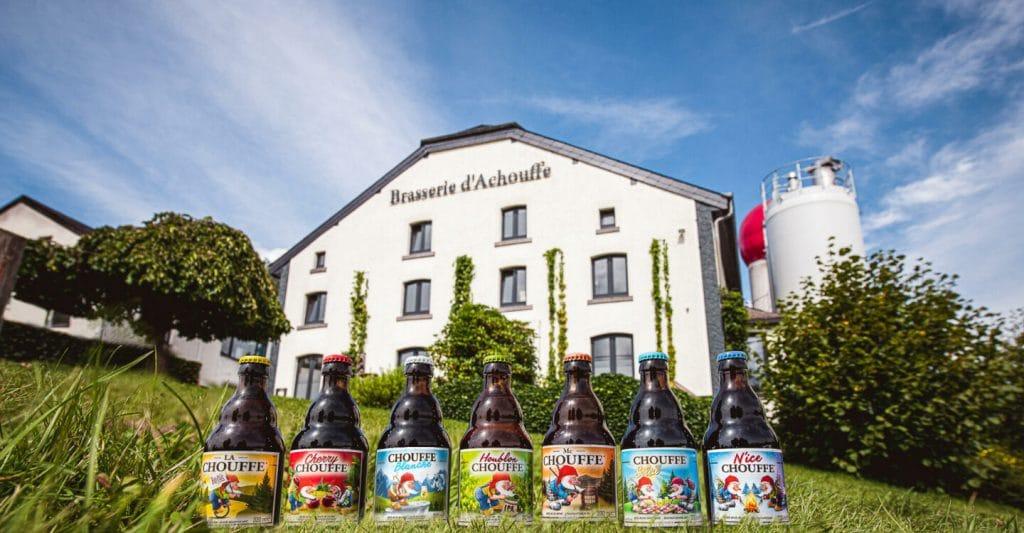 Brasserie Achouffe - De beste brouwerijen om met vrienden te bezoeken in de Ardennen