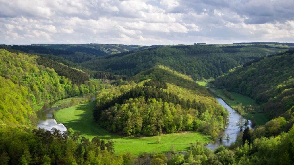 Het panorama van Botassart, Bouillon - daguitstap in de Ardennen